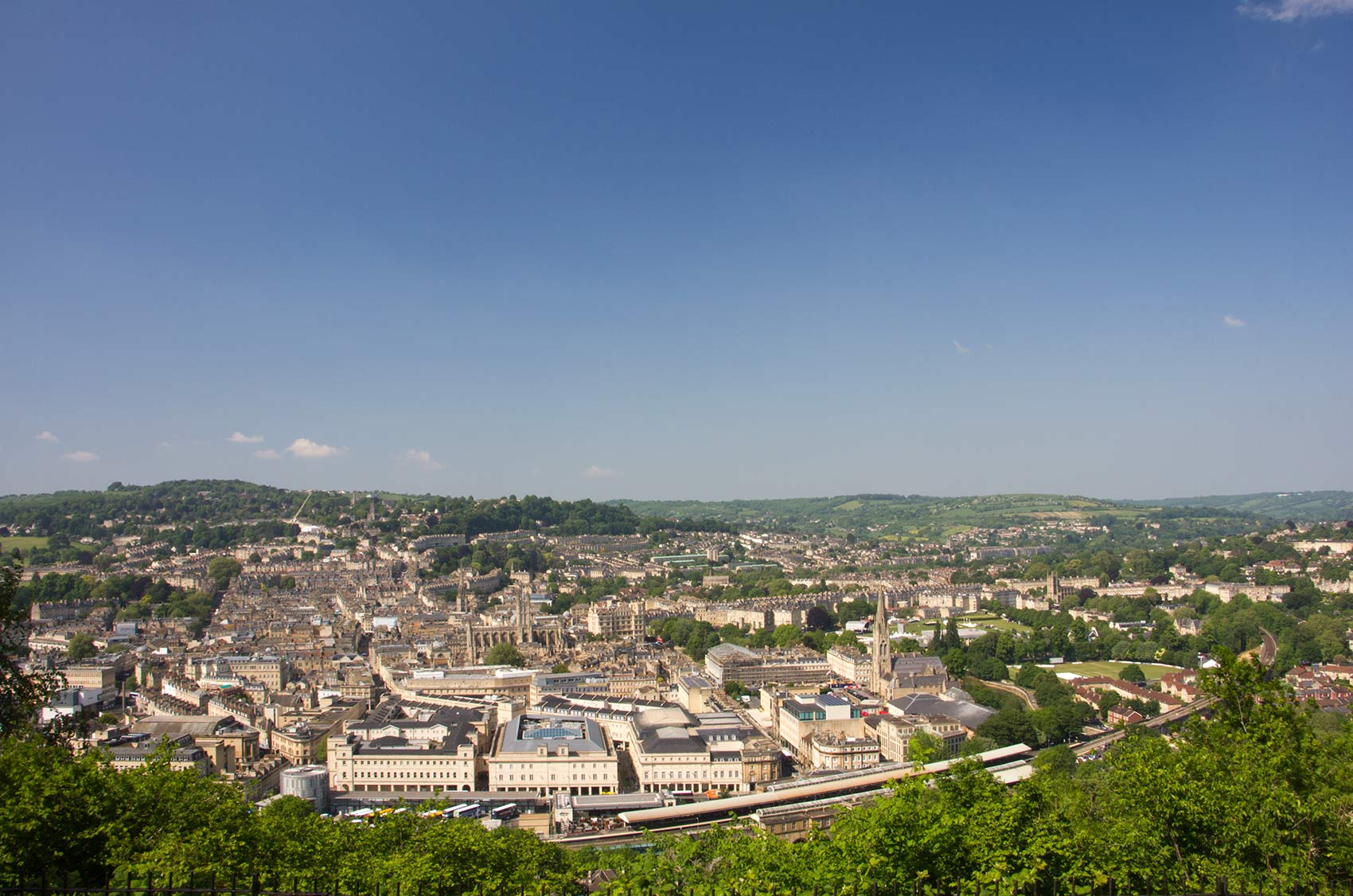 A view over Bath, Uk